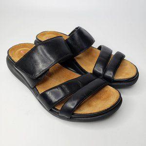 Clarks Unstructured Adjustable Strap Sandals 7M